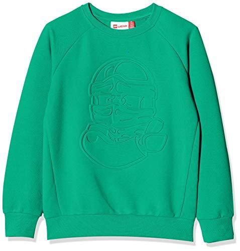Lego Wear Jungen Lwsam Ninjago Sweatshirt, Grün (Green 869), (Herstellergröße: 140)