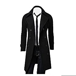Men Winter Fashion Trench Coat