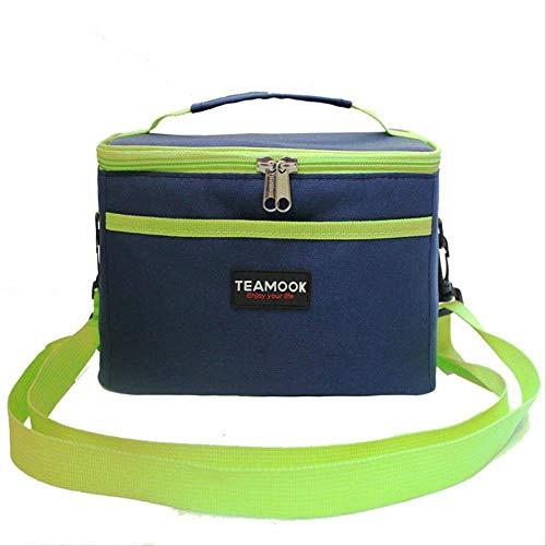 HUATAN Picknick-Kühltasche Bento Mahlzeitentasche Neue Isolierung Vliesstoff Oxford Tuch Lunchtasche Wasserdicht Tragbare Tasche Isolierung Tasche Schultergurt Hand Eisbeutel