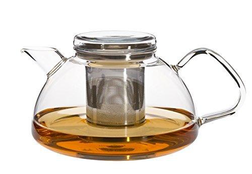 Trendglas Jena Teekanne Nova mit Edelstahlfilter 1,2 Liter