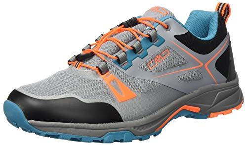 CMP – F.lli Campagnolo Herren Lahmuu Fast Hiking Shoe Wp Cross-Trainer, Grau (Cemento U716), 42 EU