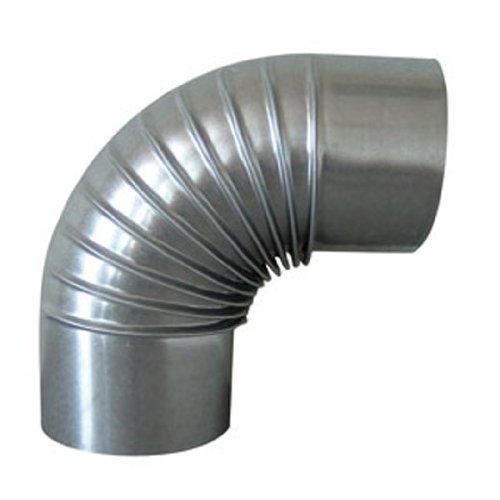 Rewwer-Tec 331732/030109 Ofenrohrbogen Fal 90°, 110 mm