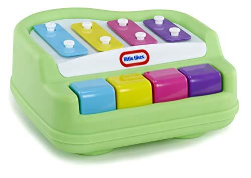 little tikes Tap-A-Tune Piano-Teclas Fáciles de Presionar-Primer Instrumento Ideal-Promueve la Coordinación Manual-Visual y Las Habilidades Motoras Finas, Multicolor (642999)