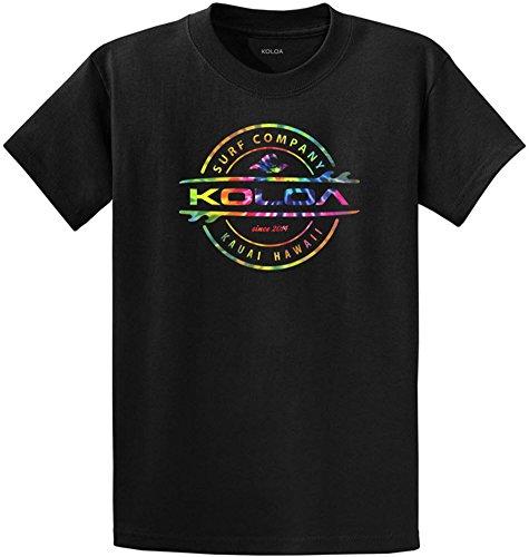Koloa Surf Rainbow Circle Thruster Logo Heavyweight Cotton T-Shirt/c-2XL