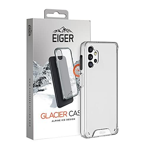 EIGER Glacier - Carcasa para Samsung Galaxy A32 5G Alpine Ice Crystal Clear