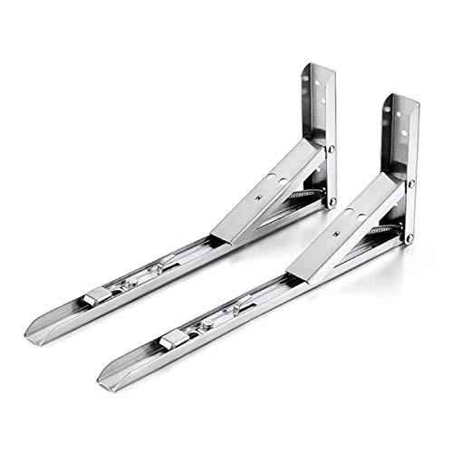 1 Paar Klappwinkel 240x136 mm Klappkonsole Winkel Klappträger Klappenbeschlag