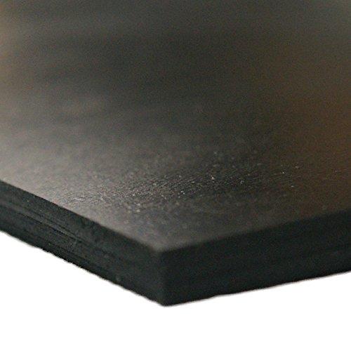 "Rubber-Cal Neoprene - Commercial Grade - 45A - Soft Rubber Sheet Rolls - 1/16"" Thick x 36"" Width x 24"" Length"