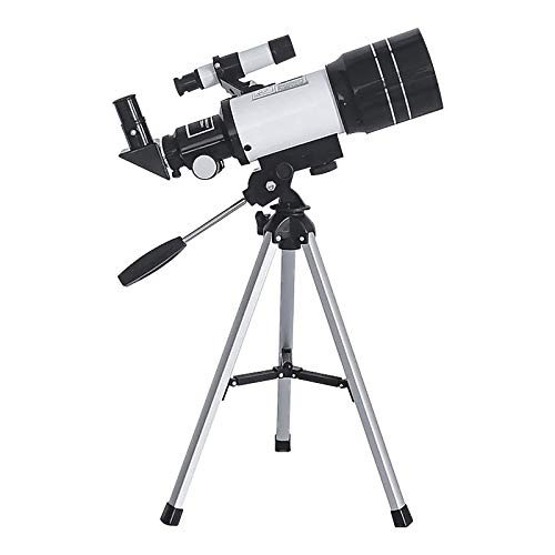 Telescope 70mm Aperture 500mm AZ Mount, 150X Astronomical Refractor Telescope Aperture for Kids Adults & Astronomy Beginners, Fully Multi-Coated Optics,Portable Refractor with Tripod, Phone Adapter