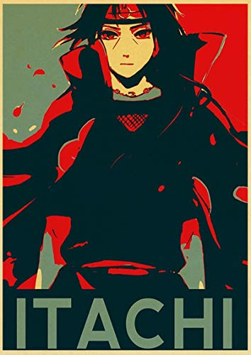 ALLYAOFA Personaje de Anime Cartel de Chapa de Metal Retro Bar Club Hogar Arte de la Pared Decoración Placa de Metal Colgante de Pared 7.8x11.8 in (20 cm x 30 cm) T
