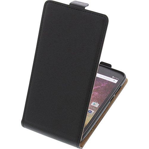 foto-kontor Tasche für Archos Core 50p Smartphone Flipstyle Schutz Hülle schwarz