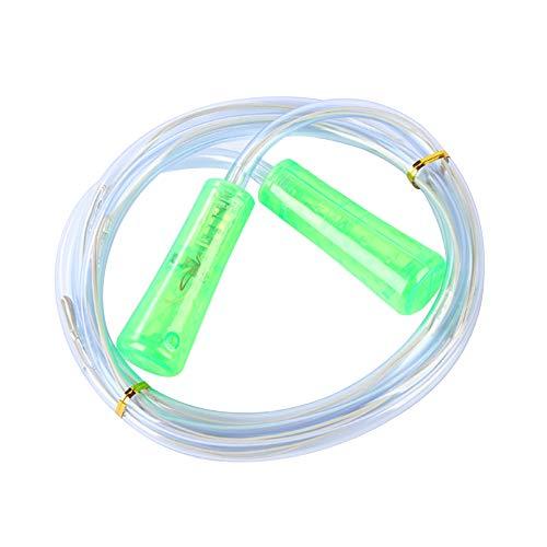 Goodtimes28 Professionelles Springseil mit LED-Beleuchtung, leuchtet im Dunkeln grün
