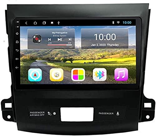 ZHANGYY Coche con navegación GPS Bluetooth Compatible con Mitsubishi Outlander 2006-2012 Máquina integrada Android Reproductor Multimedia con navegación Totalmente táctil