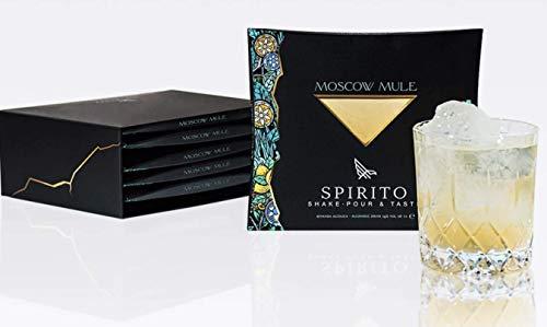 Spirito Cocktails- -MOSCOW MULE- 10cl 14% (Box da 5 Confezioni)