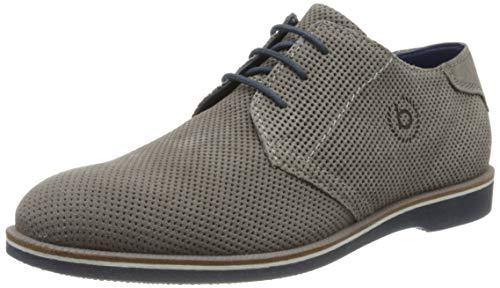 Bugatti 311647061400, Zapatos de Cordones Derby Hombre, Gris (Grey 1500), 40 EU