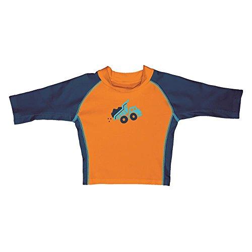 I Play 940J jeunes T-shirt de natation pour enfant Orange - Orange -