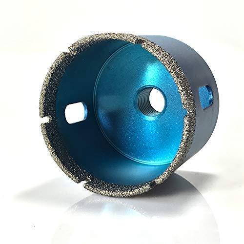 Profi Diamant Fliesenbohrkrone 68mm | Premium Qualität | Nutzlänge 4 cm | Winkelschleifer/Bohrmaschine M14 | Diamant-Bohrkrone für schnelles Bohren | Geeignet für Fliesen, Naturstein usw.