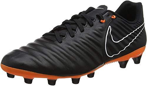 Nike Herren Legend 7 Academy Fg Fitnessschuhe, Mehrfarbig (Black/Total Orange-b 080), 42.5 EU