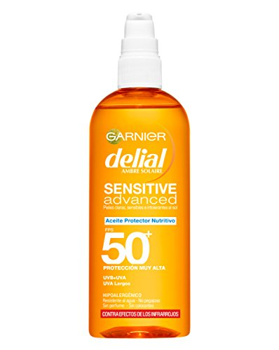 Delial Sensitive Advanced Aceite Protector Crème Solaire SPF50+