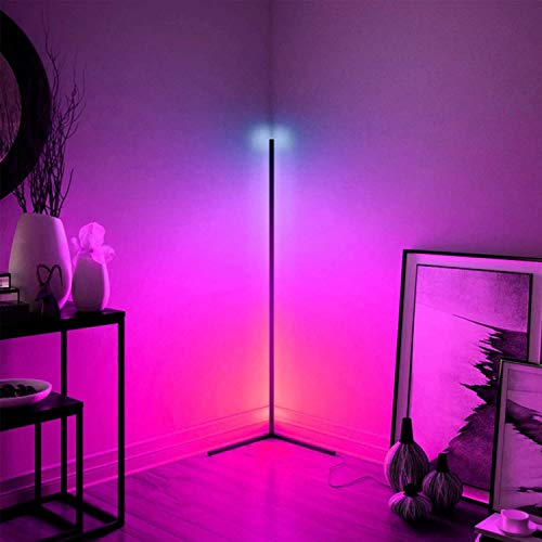 Lampara de pie,RGB Regulable lampara de pie Lámpara De Pie De Colorido RGB LED con Control Remoto Regulable |LED RGB RGB Color Cambiando La Lámpara De Pie para La Sala De Estar Decoración De La Habit