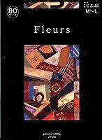 Fleurs(フルール) FZ-1653 プリントタイツ メトロポリタン美術館 キルトパッチワーク柄 日本製 80デニール 50デニール展開 (80デニール L~LL)