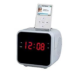 Supersonic 1.2 Display Alarm Clock/Radio For iPod & iPhone