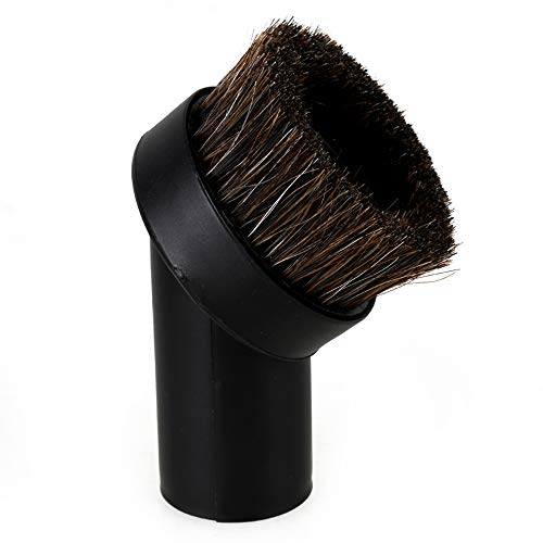 """RDEXP Round Dust Brush 25mm Horse Hair 1.25"""" Vacuum Cleaner Attachment Replacement"""