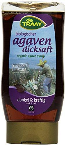 de Traay Agavendicksaft dunkel und kräftig Squeeze Flasche (1 x 350 g)