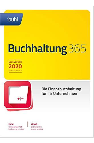 Buchhaltung 365 (aktuelle Version 2020) Zeitsparend, rechtskonform und professionell | 2020 | PC | PC Aktivierungscode per Email