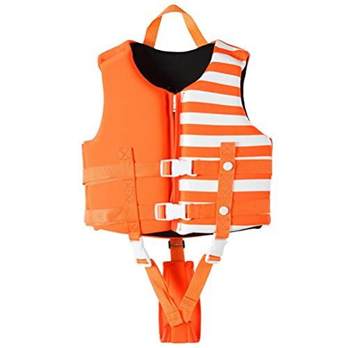 Stecel Chaleco de natación para niños y niñas, 3 colores, traje de baño para aprender a nadar, con correas de seguridad ajustables, edad 1-12 años, 10-30 kg