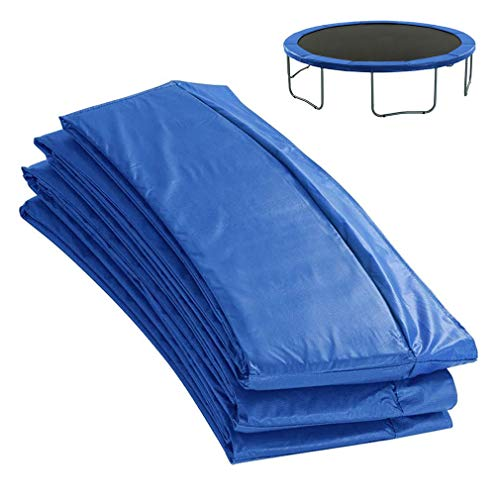 ZYYQ Garden Trampoline Replacement Pad,Spring Cover Padding Safety Guard,UV Resistant PVC Top,Replacement Trampoline Surround Pad,12ft