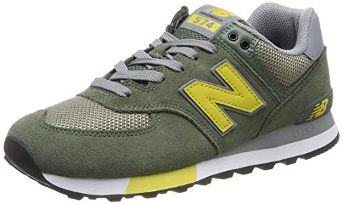 New Balance 574v2 Sneaker Uomo, Verde (Green), 42 EU (8 UK)