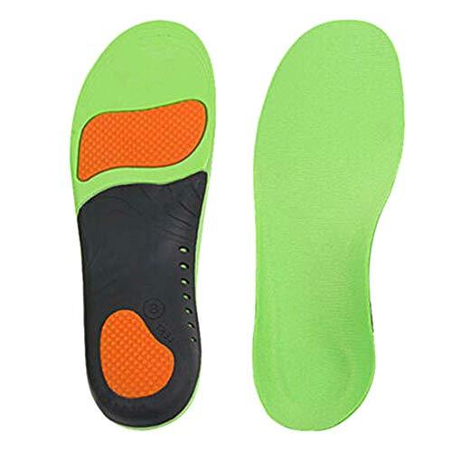 ZGL Plantillas de plantillas ortopédicas Inserciones de pies planos Soporte de arco alto, Plantillas de zapatos para fascitis plantar Pies Dolor Confort Plantillas de soporte de arco