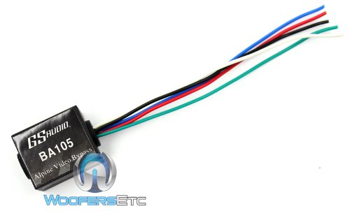 Price comparison product image BA105 - GS Audio Alpine Parking Brake Video Bypass