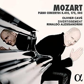 Mozart: Piano Concertos K. 415, 175 & 503
