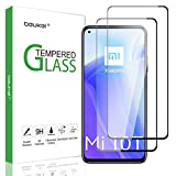 (2 Pack) Beukei Compatible for Xiaomi Mi 10T 5G and Xiaomi Mi 10T Pro 5G Screen Protector Tempered Glass, 6.67 inch, (Full Screen Coverage), Anti Scratch, Bubble Free