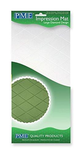 PME reliëfmat Diamond Design - ruiten