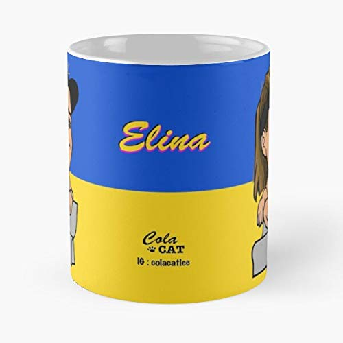 Elina Svitolina Tennispro Women WTA Tennis PRO Migliore Tazza da caffè Regalo 11 oz