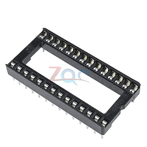 Manufacturer OFFicial shop 10Pcs 28PIN 28 PIN DIP IC Solder Socket Fees free Wide Type Adaptor