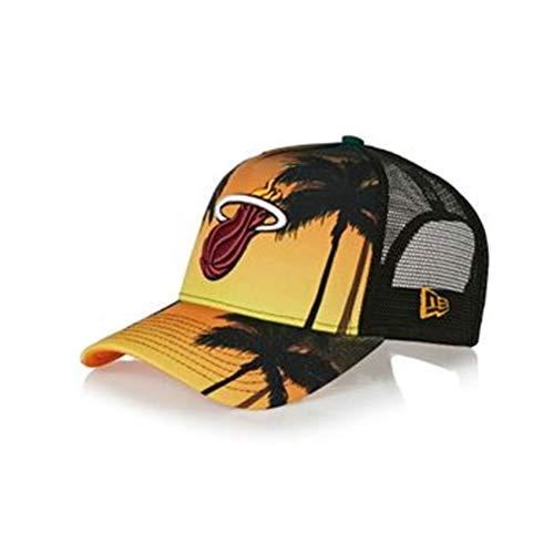 A New Era Coastal Heat Herren Cap Einheitsgröße Orange/Schwarz