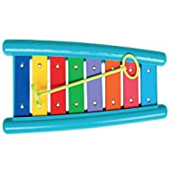 Featuring beautiful rainbow colours, clear sounds and a safe modern design suitable for babies and toddlers This delightful xylophone is an ideal introduction for children discovering a whole world of sounds and music The accurately-tuned bars let li...
