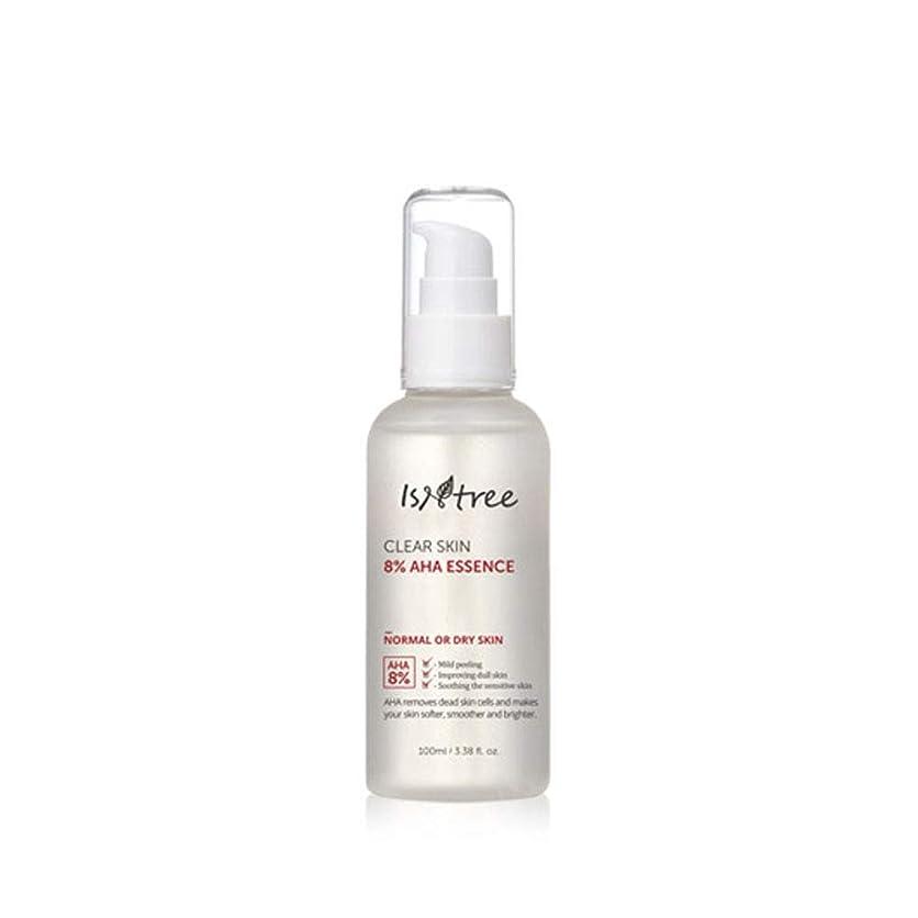 バレル錫療法[IsNtree/イズアンドツリー] Clear Skin 8% AHA Essence 100ml/クリア スキン 8% AHA エッセンス 100ml 韓国コスメ 角質 美容液 [並行輸入品]