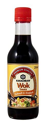 Kikkoman Salsa Wok - 2 Recipientes de 250 ml - Total: 500 ml