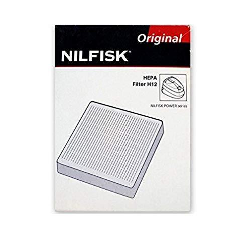Nilfisk HEPA H12 - Accesorio para aspiradora (Negro, Color blanco, 1 pieza(s))