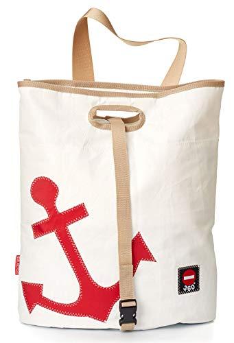 Einkaufstasche Strandtasche Tender Anker recyceltes Segeltuch von 360 Grad