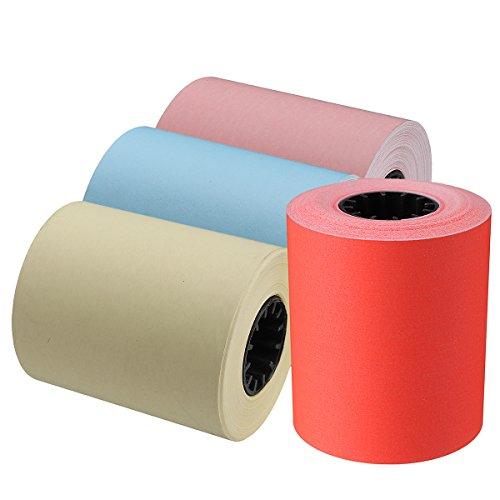DyNamic 57 X 50 Mm Thermisch Printprinterpapier Voor Memobird-Fotoprinter Rood/Roze/Geel/Blauw - Roze