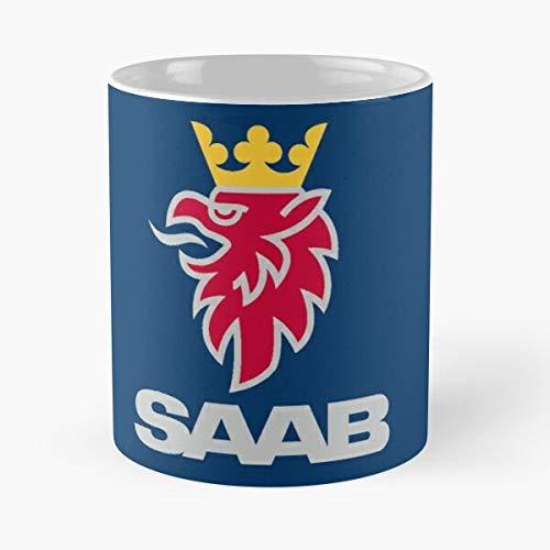 Automóvil Autos Cars Auto Automóviles Volvo Car Suecia La mejor taza de café de cerámica blanca de 11 oz