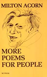 "Cover of Milton Acorn's ""More Poems for People."""