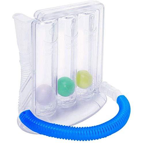 Tiefenatmungs-Trainingsgerät | Atemmesssystem | Lungenfunktion Übungsgerät - (Farbe: transparent)