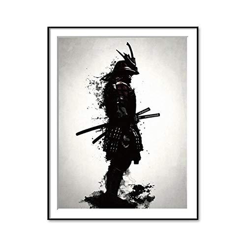 KOIJWWF Samurai Rompecabezas Rompecabezas, Rompecabezas de Madera Rompecabezas Juguetes intelectuales, Rompecabezas para Adultos Niños Imagen Puzzle-1000 Piezas
