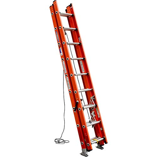 Werner, D6224-3, Extension Ladder, Fiberglass, 24 Ft, Ia